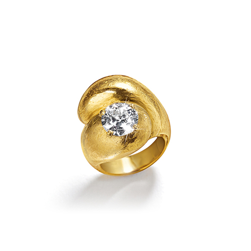 Belperron-Jewelry-Toi-et-Moi-Single-Diamond-Virgin-Yellow-Gold-Ring