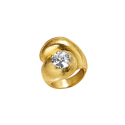 Toi et Moi Ring_Single Diamond-Virgin Gold_17