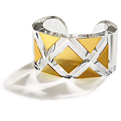 Belperron-Faceted-Cuff-Optical-Roc-Crystal-Gold
