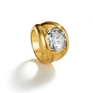 Belperron-Jewelry-Bourrelets-Ring-Diamond-Virgin-Gold