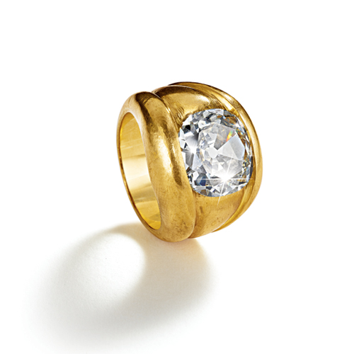 Belperron-Jewelry-Bourrelets-Ring-Diamond-Virgin-Gold