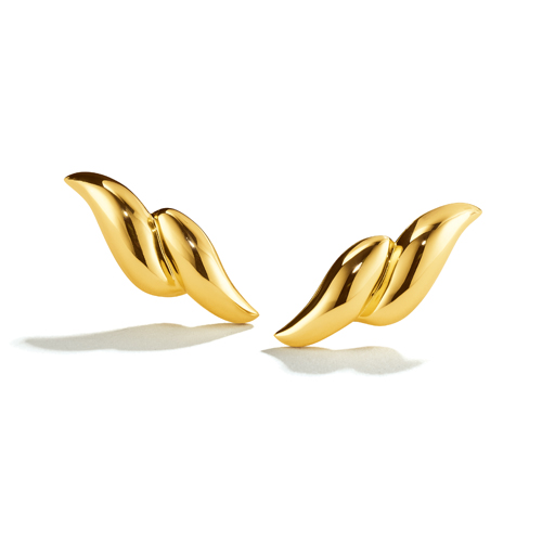Belperron-Jewelry-Double-Wave-Earclips-Gold