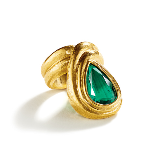 Belperron-Jewelry-Turban-Ring-Emerald-Virgin-Gold